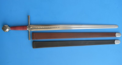 Scabbard for sword