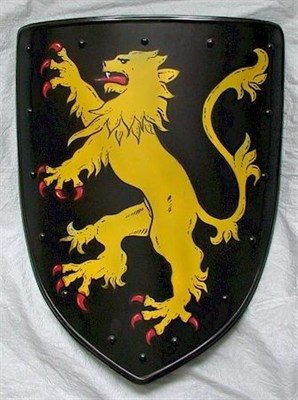 Coat of arms with lion