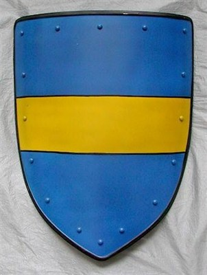Coat of arms, yellow stripe
