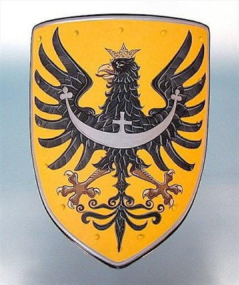 Coat of arms - black eagle