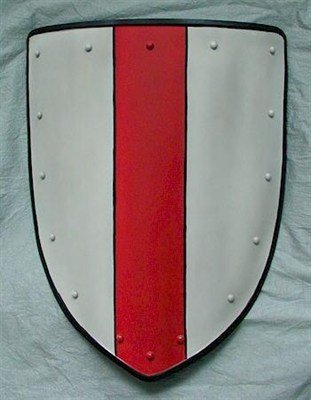 Coat of arms, red stripe