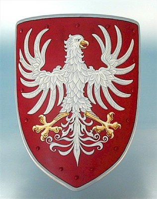 Coat of arms - white eagle
